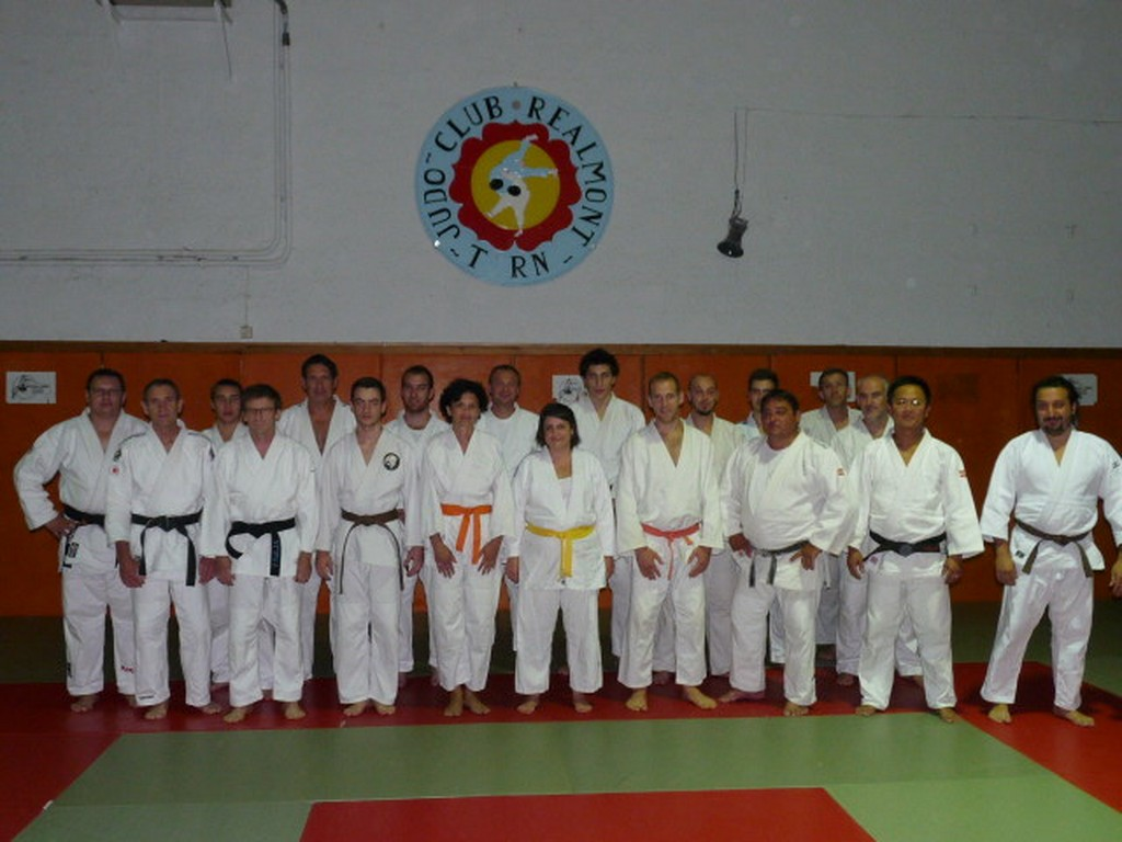 1er Stage départemental Jujitsu